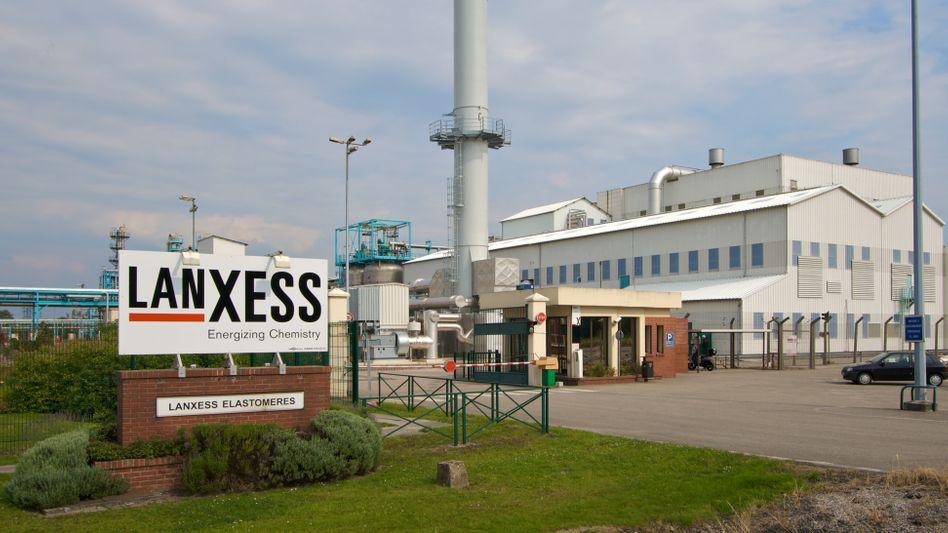 Lanxess-Werk in Frankreich: Die Geschäfte des Chemiekonzerns laufen gut
