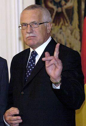 """""""Der Kommunismus wurde ersetzt durch die Drohungen eines ehrgeizigen Umweltschutzes."""" Václav Klaus, tschechischer Präsident"""