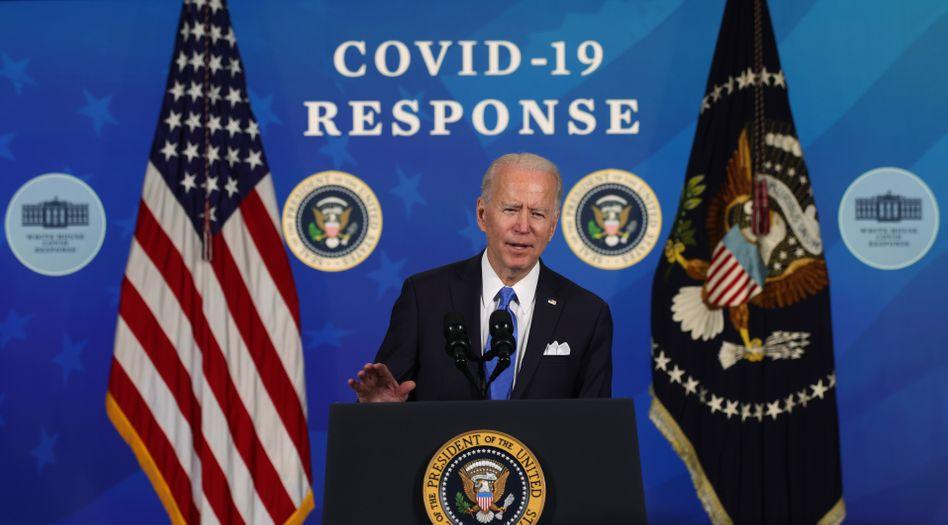 Joe Biden: Sein Konjunkturprogramm wird die weltweite Nachfrage nach Waren weiter ankurbeln