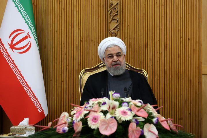 Lehnt Treffen mit Trump ab: Irans Präsident Rohani