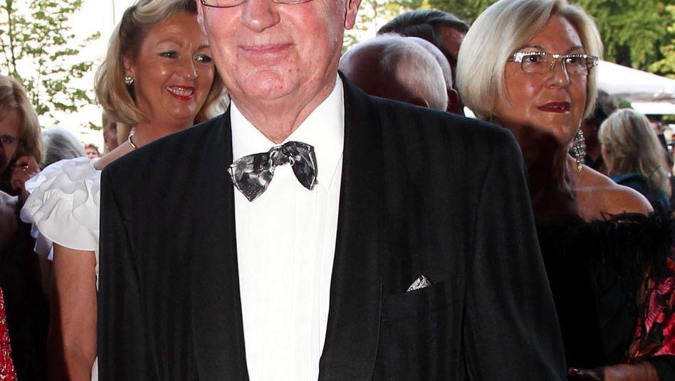 Erich Kellerhals, hier im August 2011 vor einer Premiere der Salzburger Festspiele, wurde 78 Jahre alt.