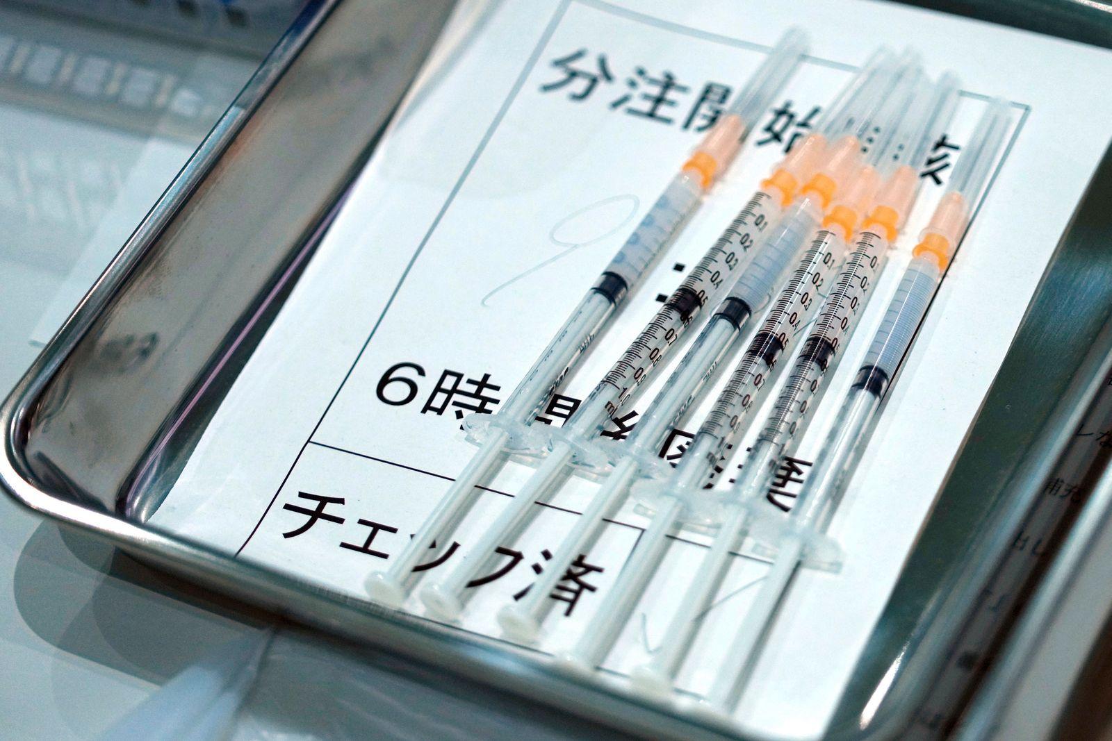 Virus-Outbreak Japan Moderna