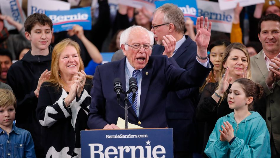 US-Vorwahlen: Bernie Sanders siegt in New Hampshire knapp vor Buttigieg