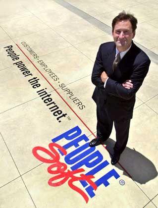 Kryptische Äußerungen über Gewinnprognosen: People-Soft-Chef Craig Conway