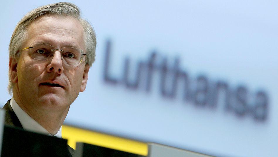 Abflug: Christoph Franz wechselt zu Roche - und lässt die Lufthansa mit dem von ihm verordneten Sparkurs allein