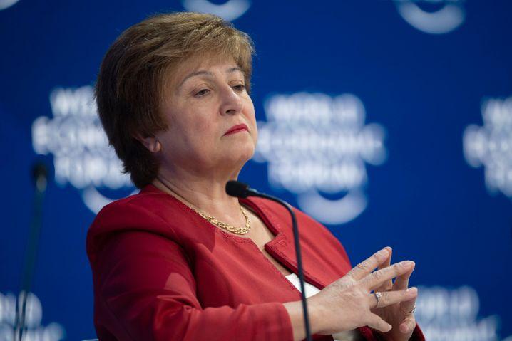 IWF-Chefin Kristalina Georgiewa