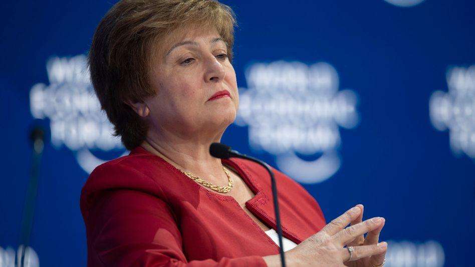 Kristalina Georgiewa: Die IWF-Chefin kämpft um ihren Job