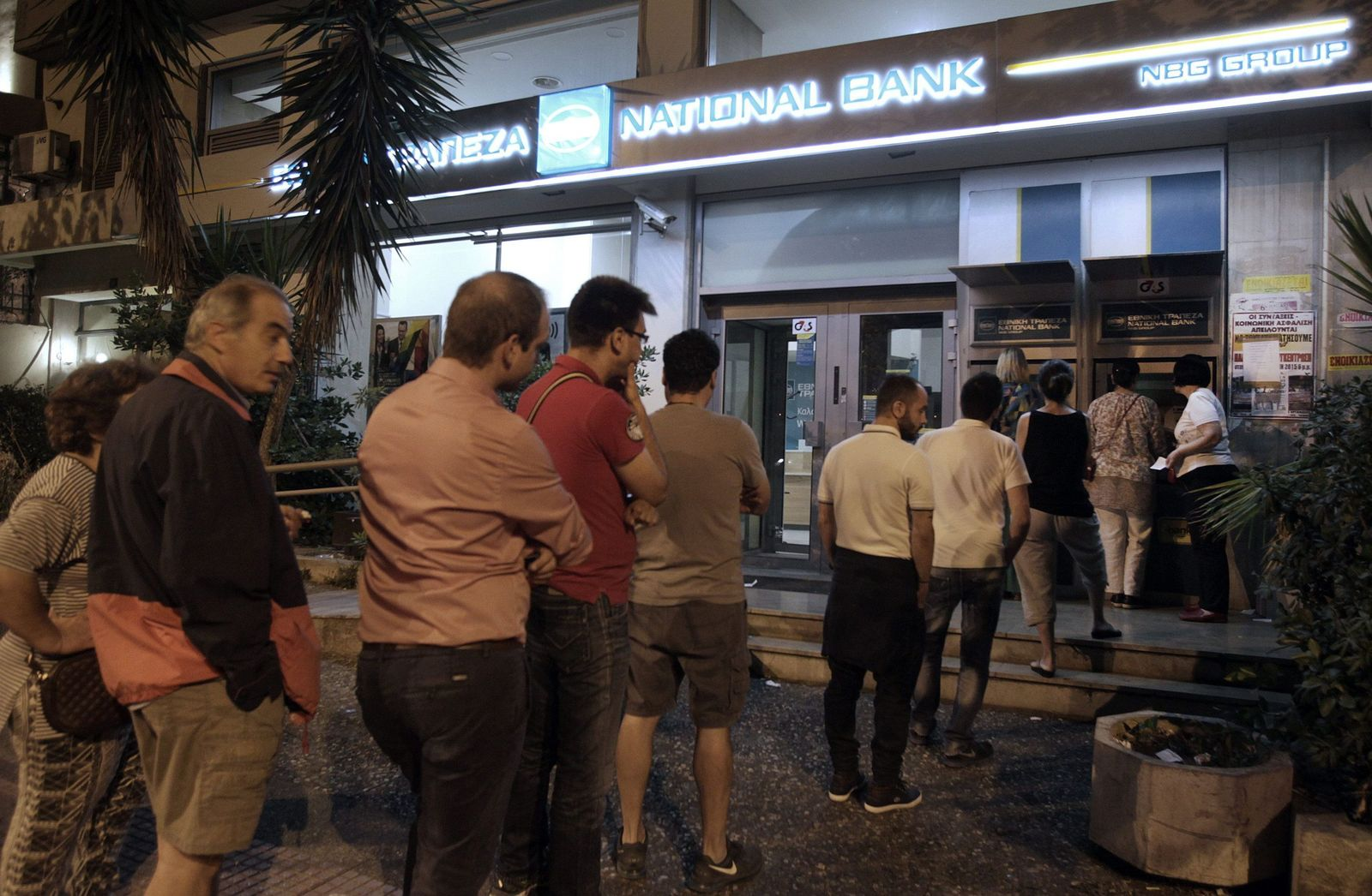Griechenland/Geldautomat