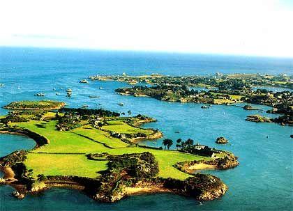 Insel Íle Biniguet, französische Bretagne, Größe: 1,5 Millionen Quadratmeter, nicht zu kaufen.