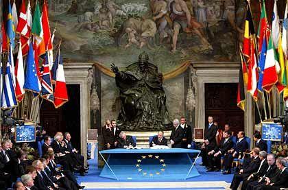 """""""Solide Basis für gemeinsame Zukunft"""": Die Staats- und Regierungschefs in Rom"""