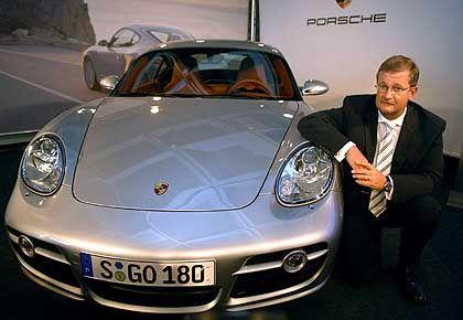 Kein Freund ausführlicher Quartalsberichte:Porsche-Chef Wiedeking