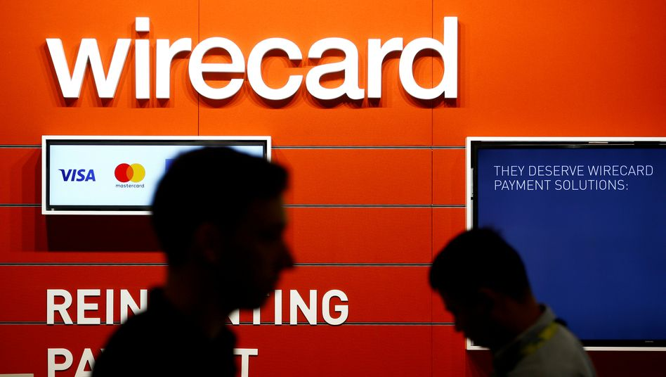 Wirecard-Werbung auf einer Messe in Köln: Bafin verbietet neue Spekulationen auf fallende Kurse der Wirecard-Aktie