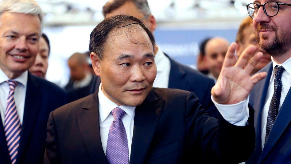 Träumt von Rasanz: Geely-CEO Li Shufu