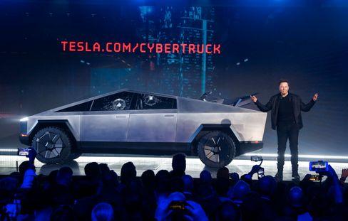 ... und der Cybertruck von Tesla.