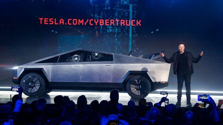 """Ford, GM und Rivian mit Tesla-Truck-Fightern: Gegen diese Konkurrenz fährt der Tesla-""""Cybertruck"""" an"""