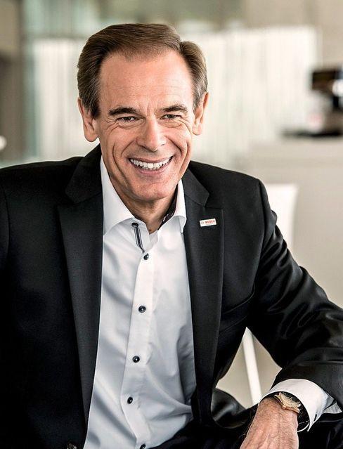 """Saubermann: Bosch-Chef Volkmar Denner will den Weltkonzern schon ab dem nächsten Jahr """"klimaneutral"""" stellen"""