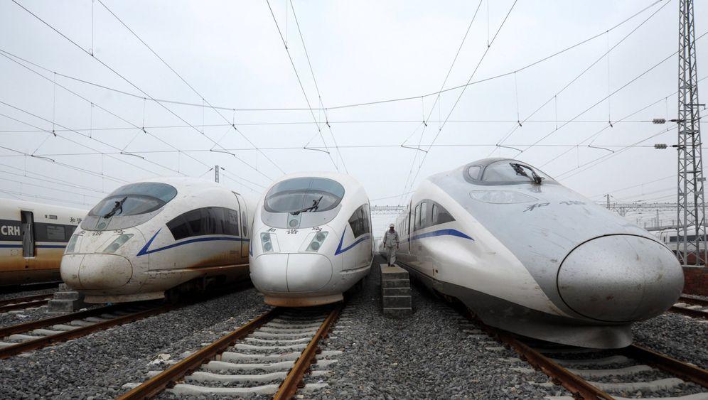 Zug-Imperium geschmiedet: Wie China international wachsen will