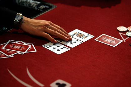 Pokerspiel: Mancher hat sich verzockt