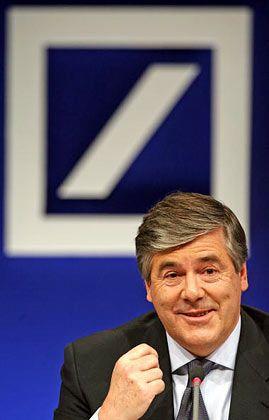 Packen wir es an: Deutsche-Bank-Chef Ackermann redet wieder von Gewinnen