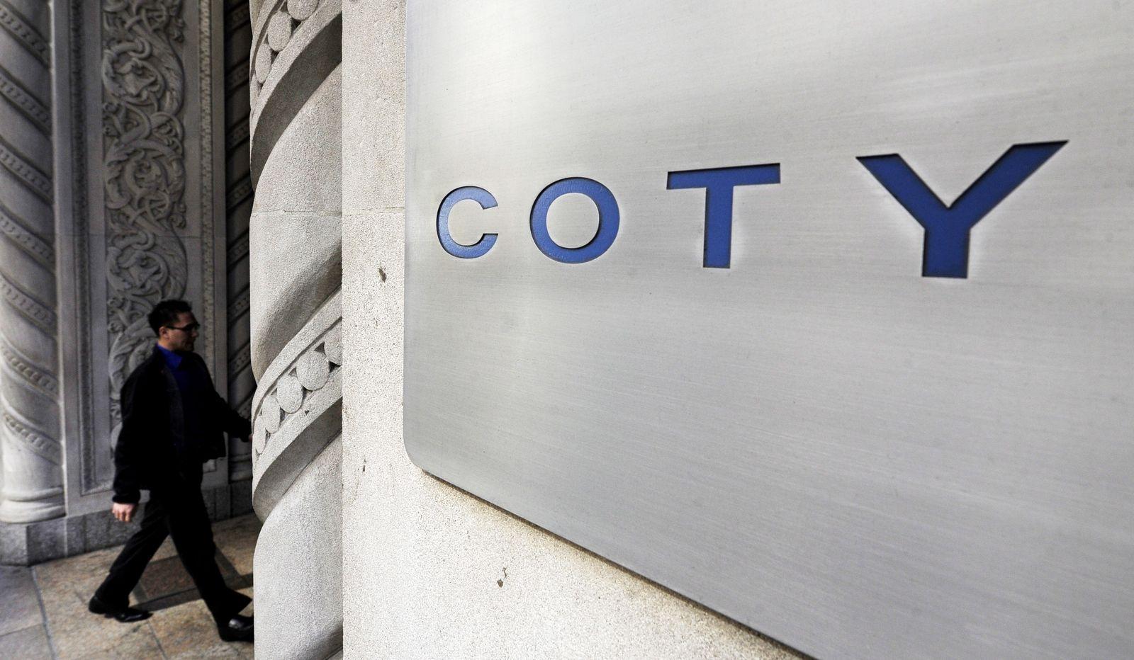 Kosmetikhersteller Coty