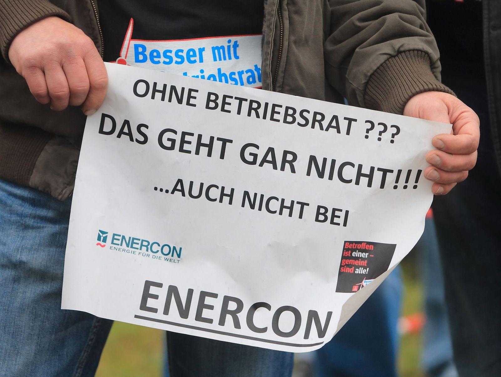 KaSP Kündigung von Enercon-Betriebsrat