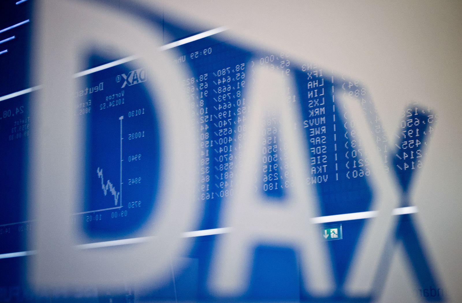 Handelssaal der Börse / Dax / Frankfurt