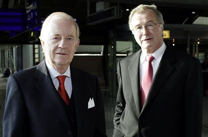 Neuanfang: Die beiden Altmeister Jürgen Mülder und Hermann Sendele gehen gemeinsam auf die Pirsch nach Kandidaten