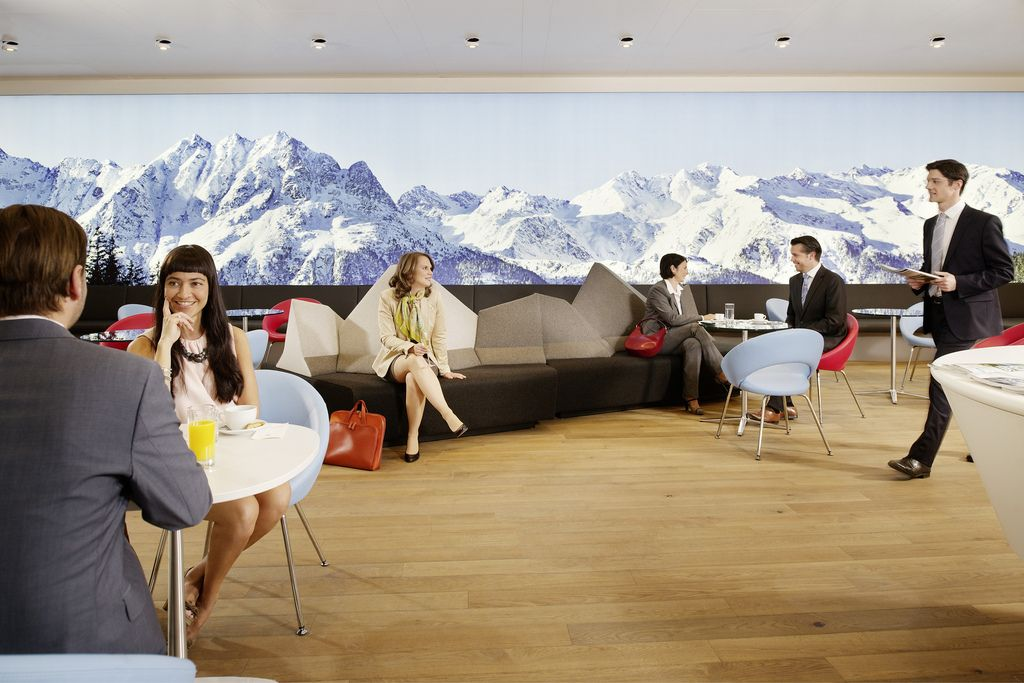 Austrian Airlines / Lounge
