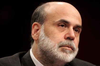 """""""Wenn man in einer derartigen Situation ist, in einem perfekten Sturm, muss man manchmal Dinge tun, die ein wenig unorthodox sind"""": Fed-Chef Bernanke."""