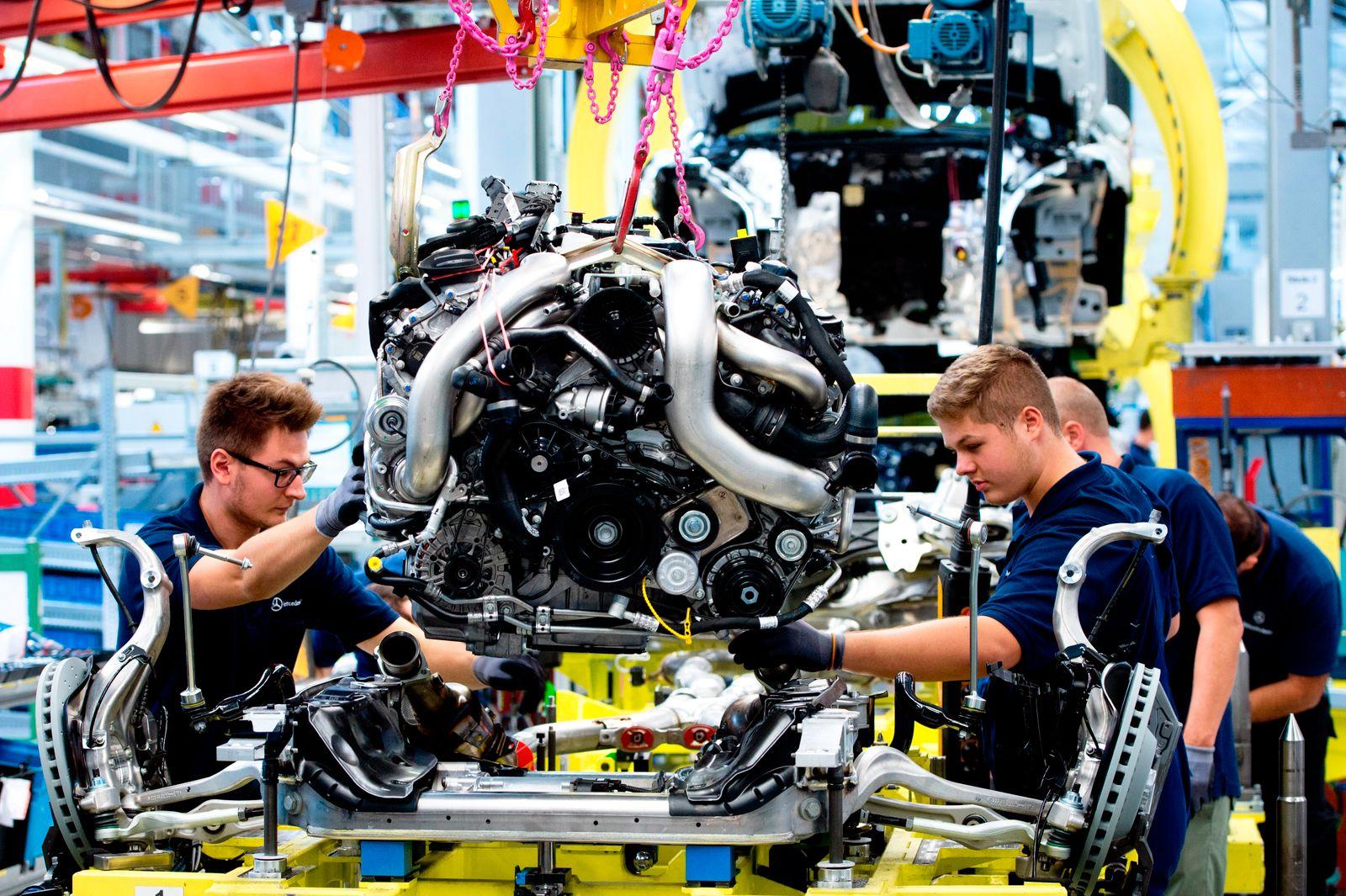 S-Klasse Produktion / Mercedes / ZEW Konjunkturindex / Deutschland / Konjunktur