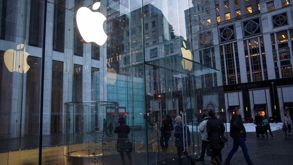 Apple Store in New York: Aktienrückkäufe geplant