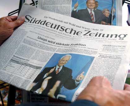"""Teil des Schaub-Imperiums: Die """"Süddeutsche Zeitung"""""""