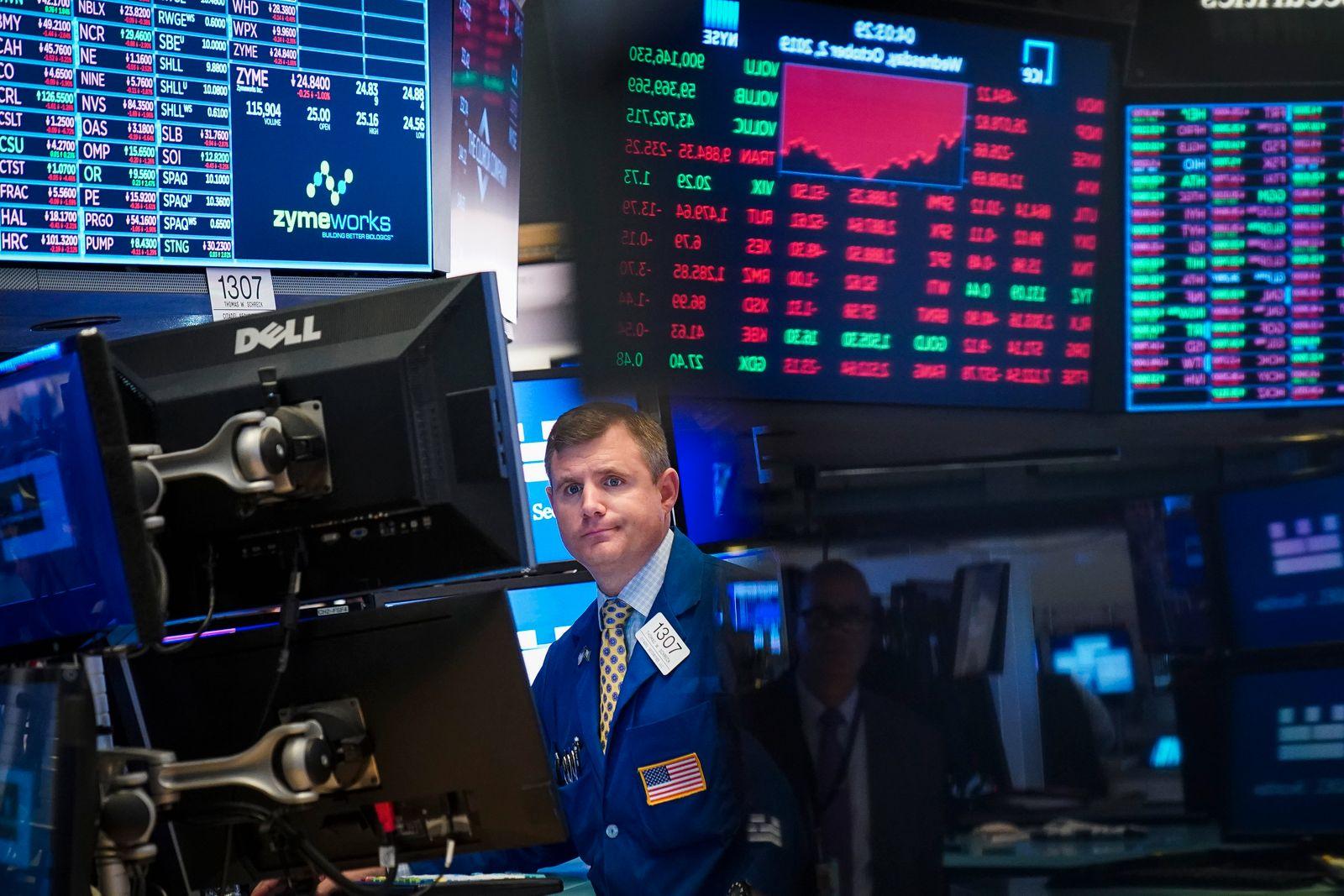 NYSE Börsenhändler