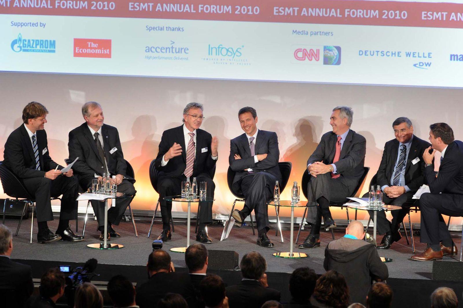 EINMALIGE VERWENDUNG ESMT Expertenforum 2010