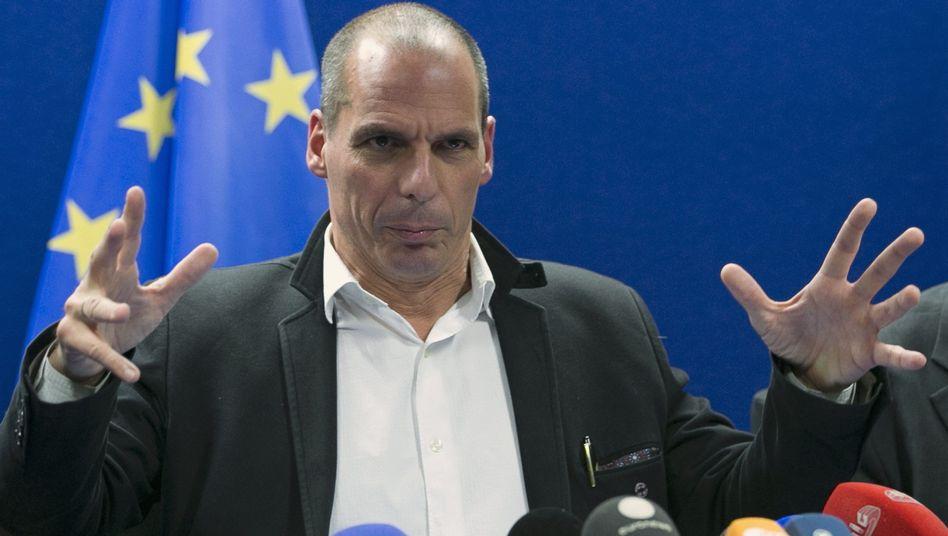 """Griechischer Finanzminister Varoufakis: """"Keine bindenden Absprachen"""""""
