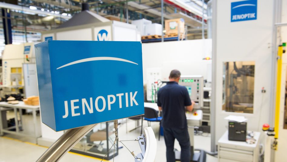 Jenoptik in Jena: Das Unternehmen erhielt einen Großauftrag vom US-Militär.