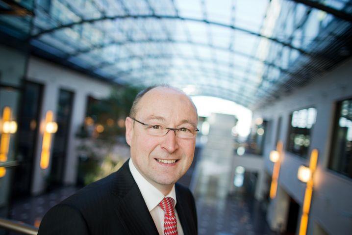 Marktführer dank Fusion mit Aktientausch: Der Vorstandsvorsitzende des Immobilienkonzerns Deutsche Annington, Rolf Buch.