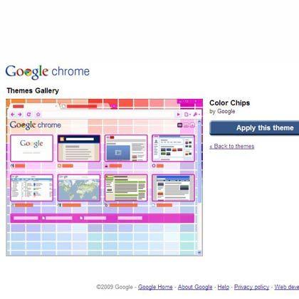 Muss man nicht mögen: Durch die Themes lässt sich das Erscheinungsbild des Browsers an den eigenen Geschmack anpassen