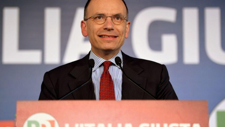 Der Vizekandidat: Nachdem Parteichef Bersani an der Regierungsbildung scheiterte, erhält sein Stellvertreter Letta den Auftrag