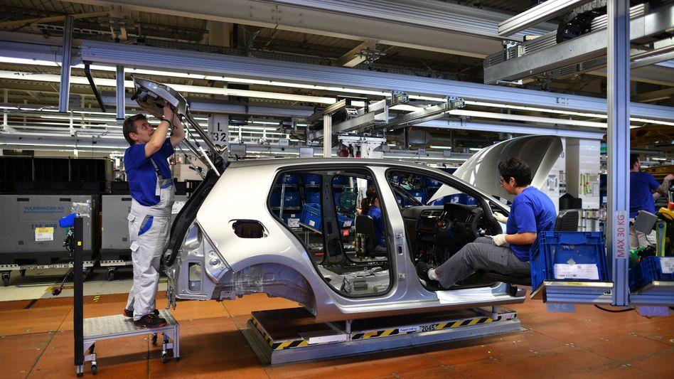 Dominierendes Thema: Das Leiden der Autoindustrie
