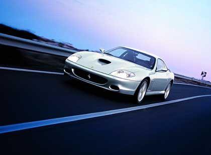 Ferrari 575M Maranello: Verleiht der Superrenner der Commerzbank neuen Glanz