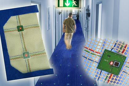 Technologie: Infineons intelligenter Teppich