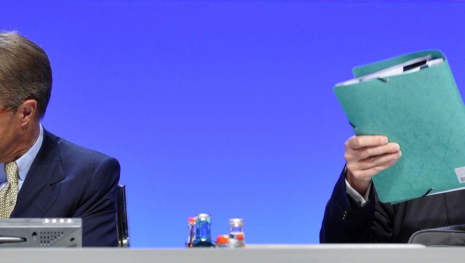 Rückzug: Jürgen Kluge gibt den Vorsitz im Aufsichtsrat der Metro ab - er bleibt aber Chef des Haniel-Vorstands