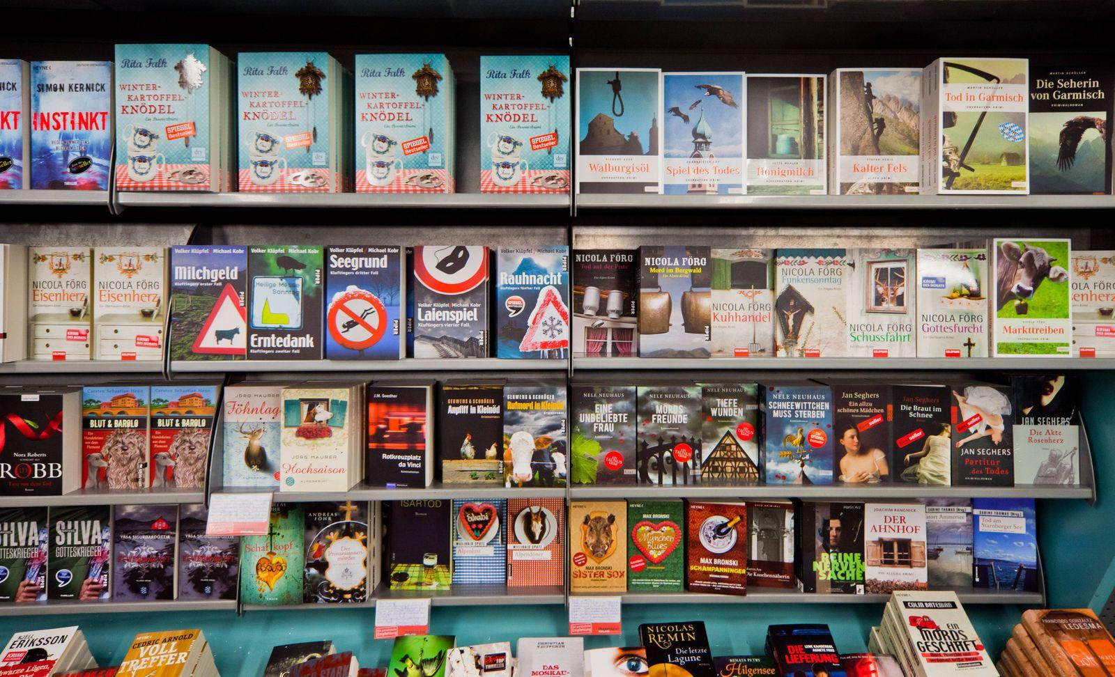 EINMALIGE VERWENDUNG Bücher / Buchhandlung / Hugendubel