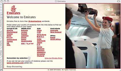 Platz drei für Emirates: Mehr als zwölf Millionen Fluggäste weltweit haben sich an der Befragung beteiligt