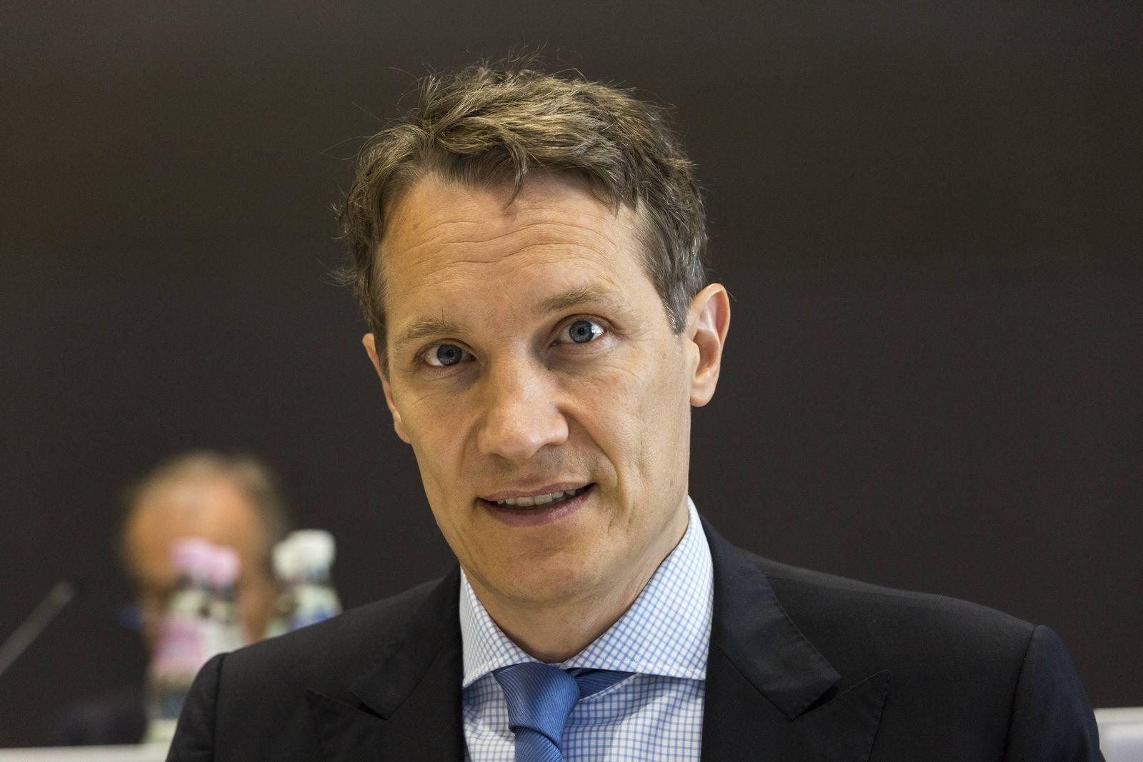 Oliver Samwer CEO und Vorstandvorsitzender auf der Hauptversammlung der Rockt Internet SE am 08 06