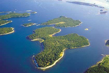 Insel MacDonald Island, Ostküste Kanada, Größe: 190.000 Quadratmeter, Kaufpreis: 140.000 Kanadische Dollar