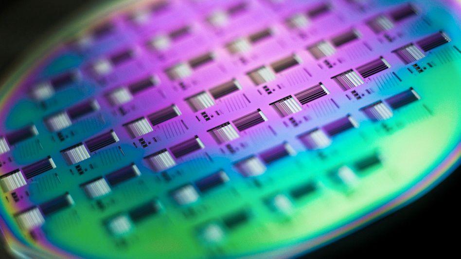 Wafer: Aus den Siliziumscheiben werden Chips gestanzt