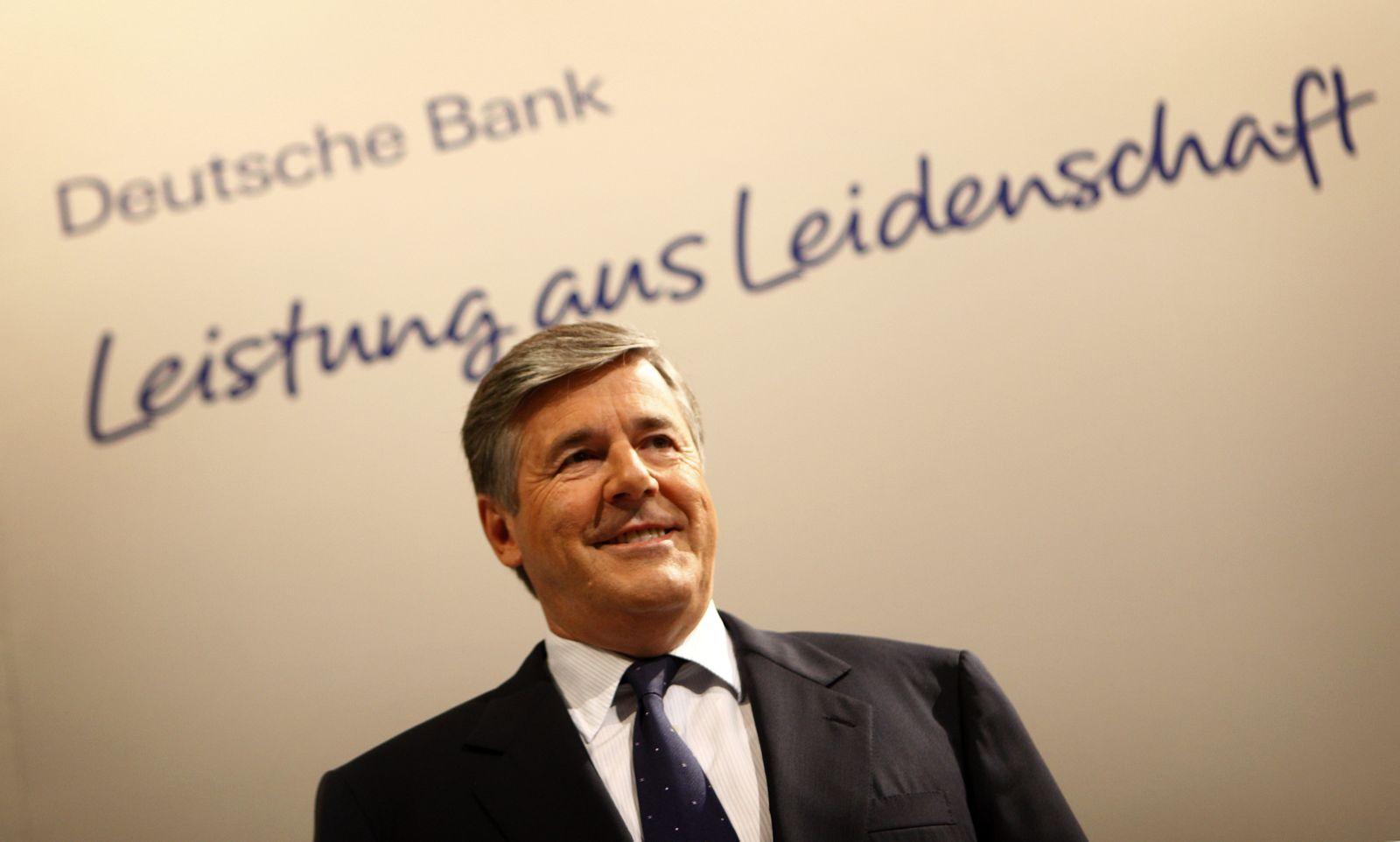 """Deutsche Bank / Slogan / """"Leistung aus Leidenschaft"""""""