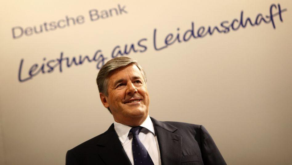 Josef Ackermann, 2010 als Deutsche-Bank-Chef
